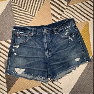 Ralph Lauren Distressed Shorts